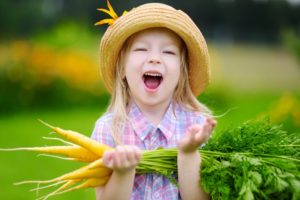 Sebze Yemez Misin Küçük Kız?