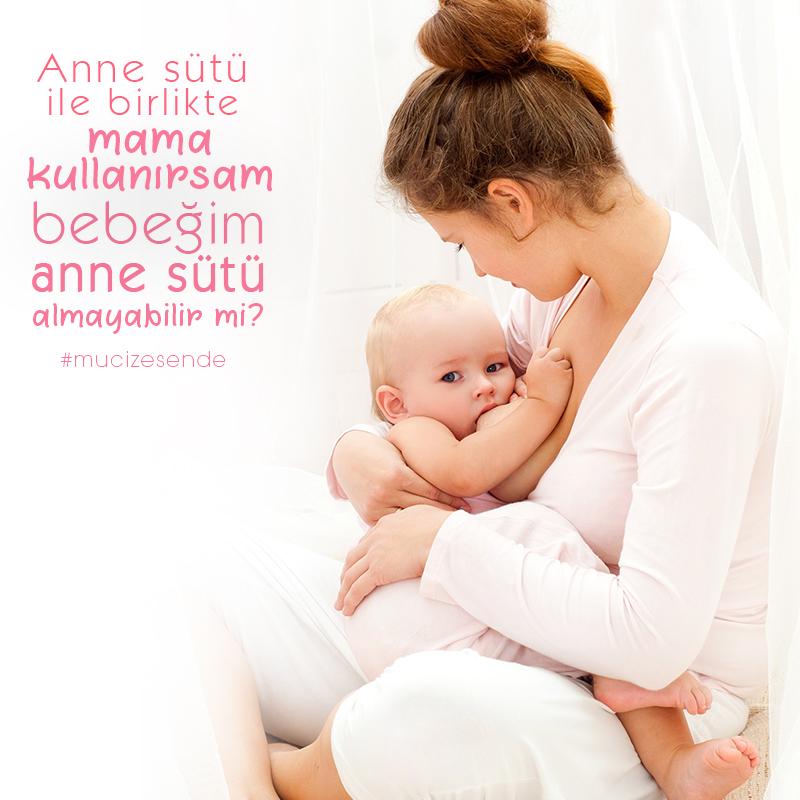 Anne Sütü ile Birlikte Mama Kullanırsam Bebeğim Anne Sütü Almayabilir Mi?