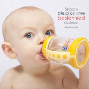 Bebeğin Bilişsel Gelişimini Beslenmesi Destekler