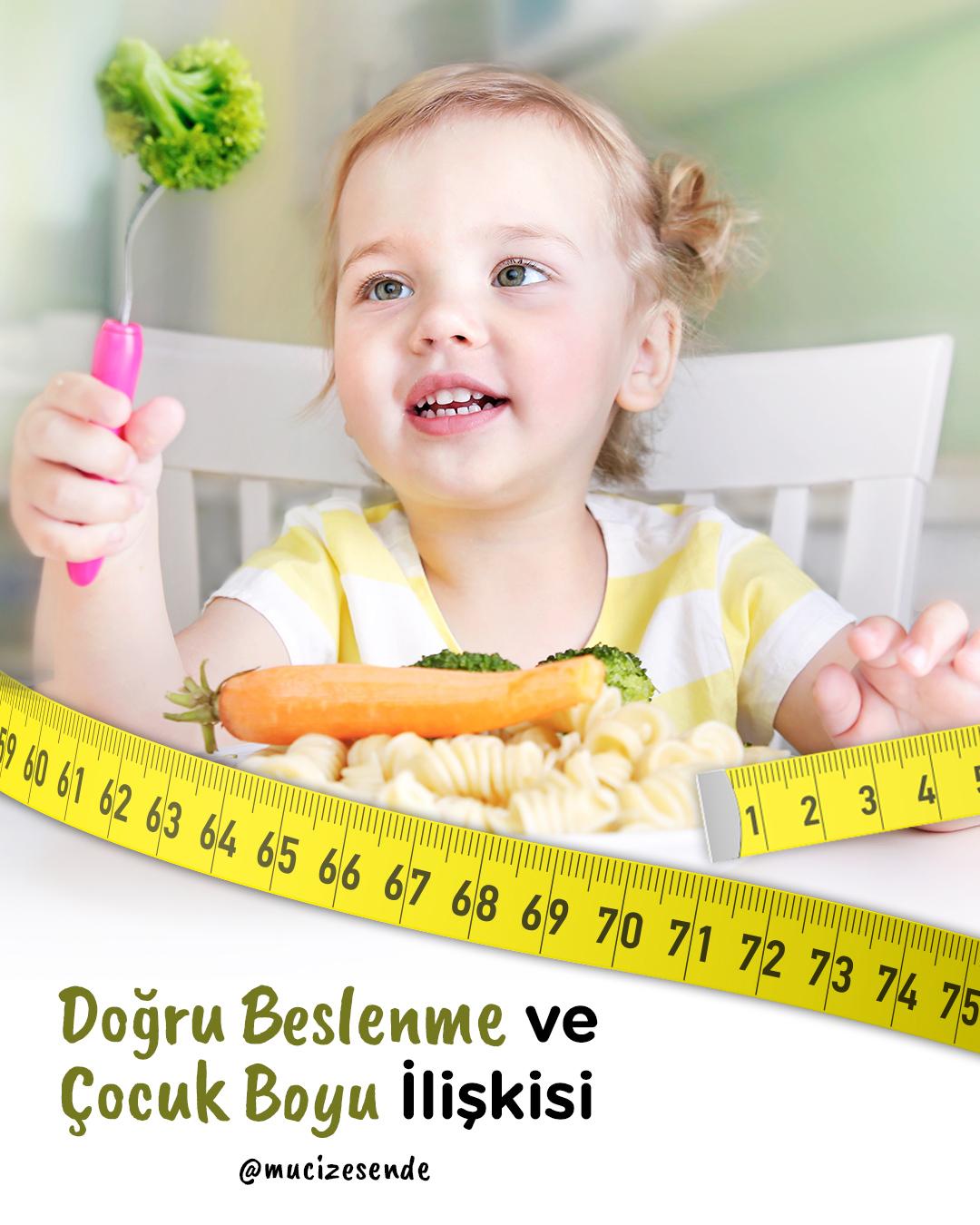 Doğru Beslenme & Çocuk Boyu İlişkisi: